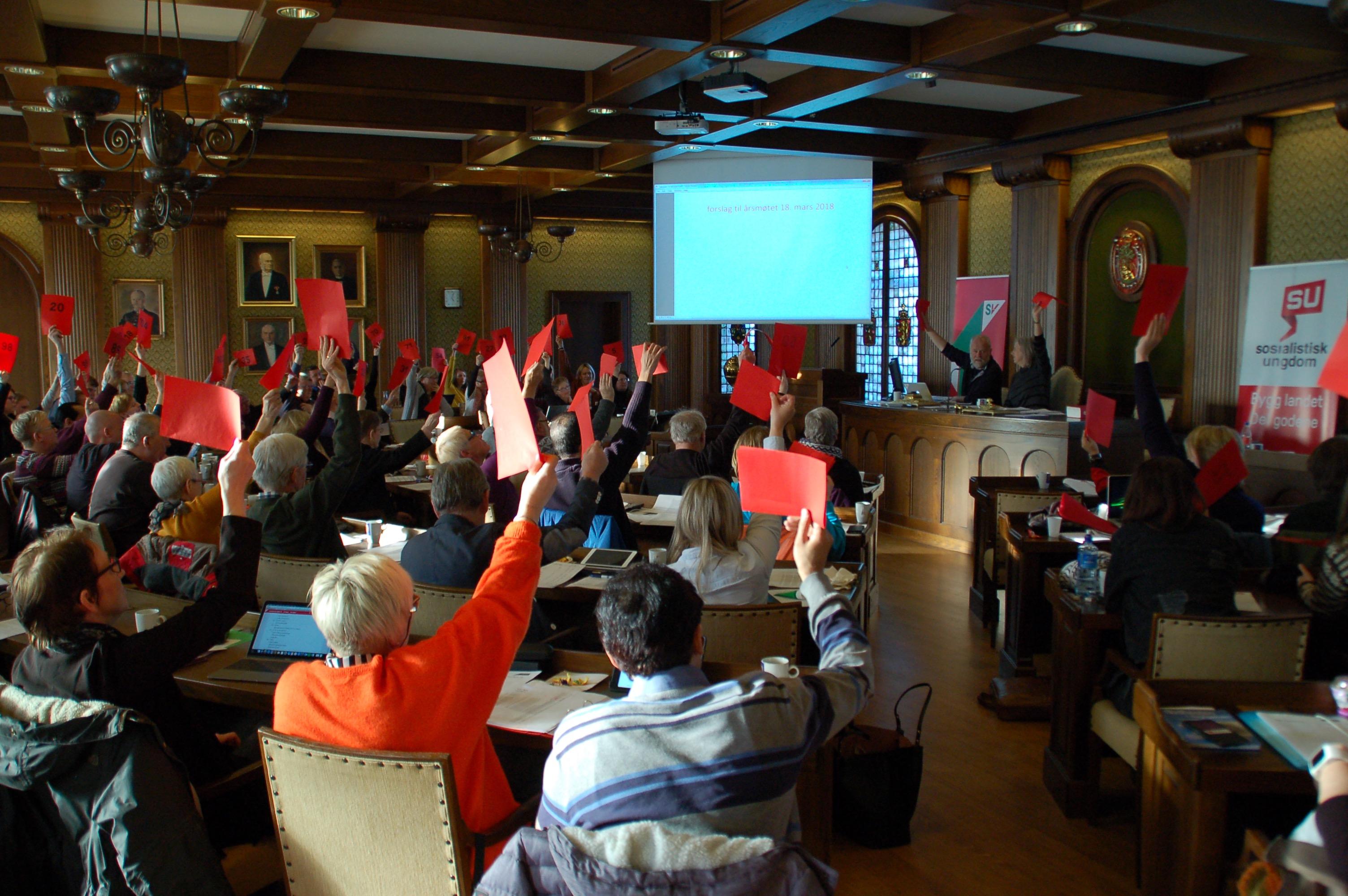 Vedtak fra fylkesårsmøtet 29. februar